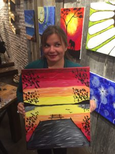 Gina Pacelli at Muse Paintbar