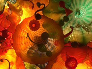 Chihuly Glass Art in Seattle