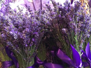 Lavender at Pike Place Market