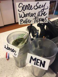 Men versus Women Tippers in Seattle