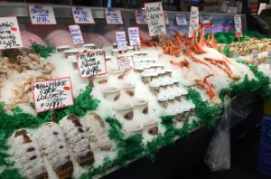 Seafood at Pike Place Market