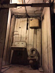 Underground Toilet