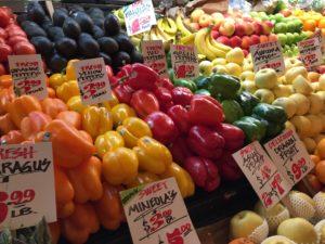 Veggies at Pike Place Market