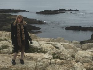 Dina, Cliff Walk, Newport, Rhode Island
