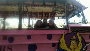 Ceci, Gina Pacelli, and Liz, Boston Duck Tours