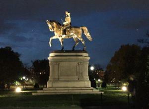George Washington Statue, The Public Garden, Boston
