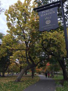 The Public Garden, Boston