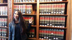 Joanna, Boston Library
