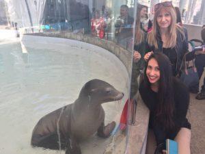 Joanna and Dina, Boston Aquarium