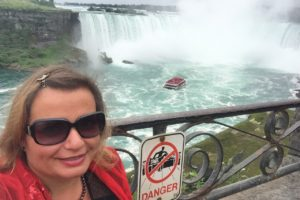 Niagra Falls, A Little Trip Abroad