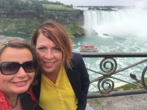 Gina Pacelli and Cheryl, Niagra Falls
