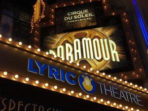 Cirque Du Soleil, Paramour, Broadway, New York City