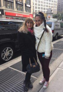 Dina and Joanna, New York City