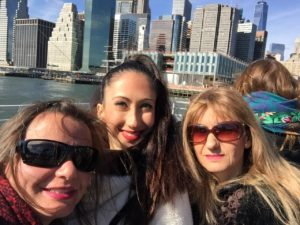 Gina Pacelli, Joanna, Dina, New York City