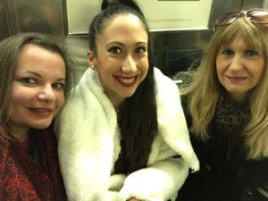 Gina Pacelli, Joanna, and Dina, New York City