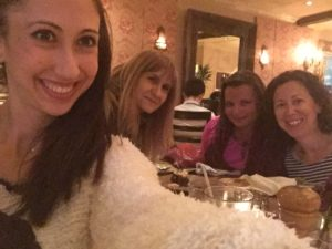 Joanna, Dina, Gina Pacelli, Erin, Cafe of Love, New York