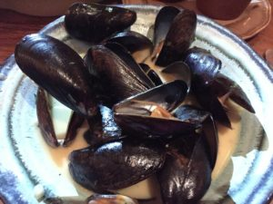 Mussels, Cafe of Love, New York