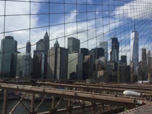 New York City, Brooklyn Bridge Viewpoint