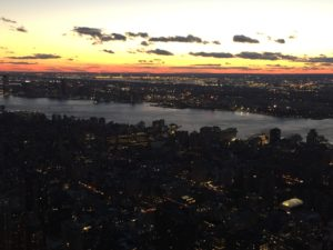 Sunset, Empire State Building, New York City