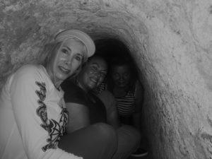 Elaine, Cu Chi Tunnels, Vietnam