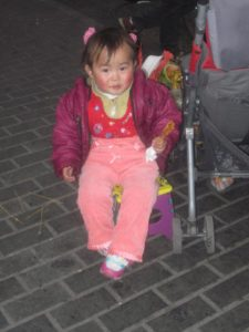 Little girl, China