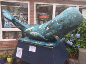 Whale Art, Mystic, Connecticut