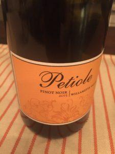 Petiole Pinot Noir