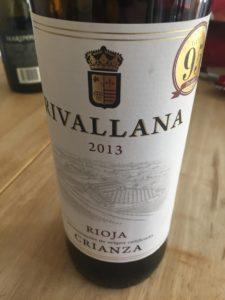2013 Rivallana Rioja Crianza