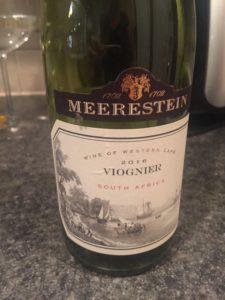 2016 Meerestein Western Cape South Africa Viognier