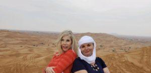 Elaine, Gina Pacelli, Red Sand Desert, UAE