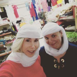 Elaine and Gina Pacelli, UAE