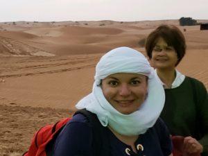 Gina Pacelli, Desert, UAE