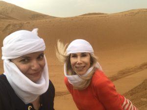 Gina Pacelli, Elaine, Red Sand Desert, Dubai