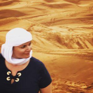 Gina Pacelli, Red Sand Desert, UAE