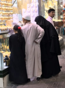 People Watching, Gold Souk, Old Dubai, UAE