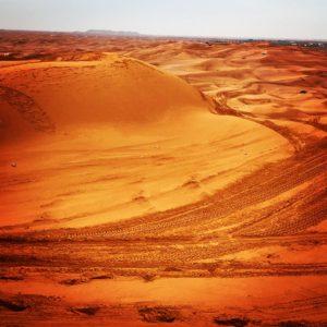 Red Sand Desert, Dubai